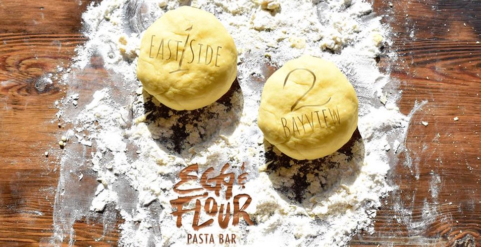 Egg & Flour Pasta Bar – 2 Locations