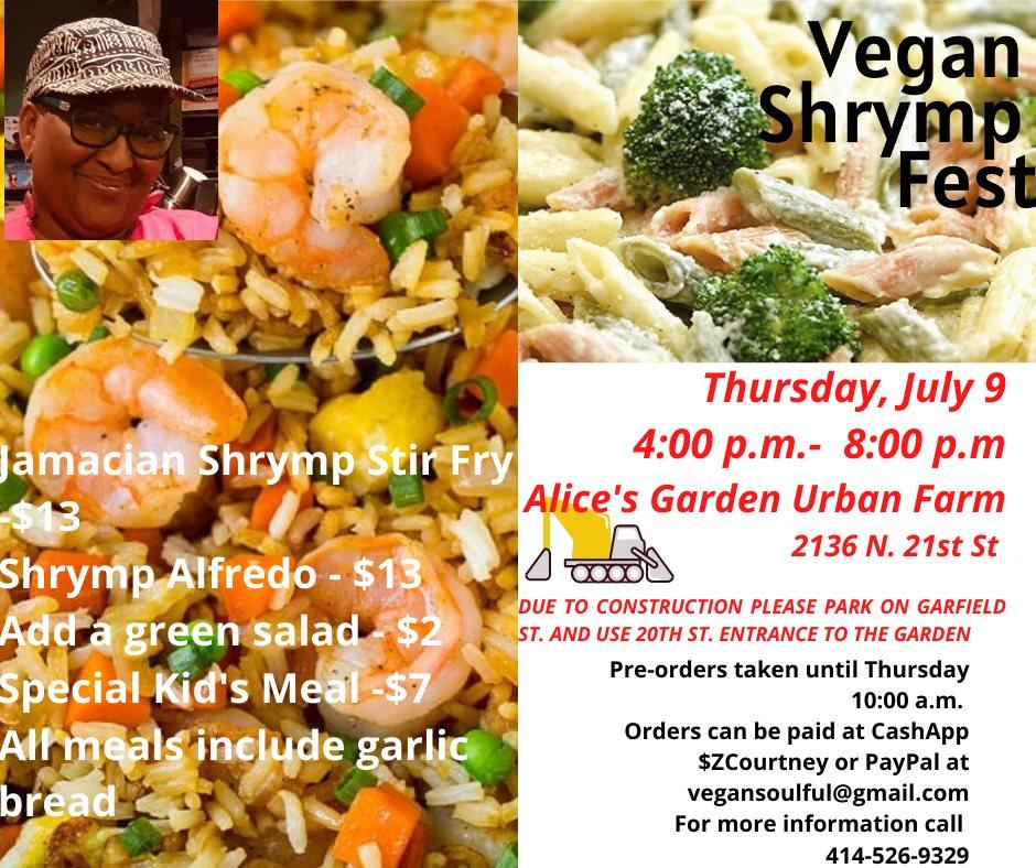 Vegan Shrymp Fest