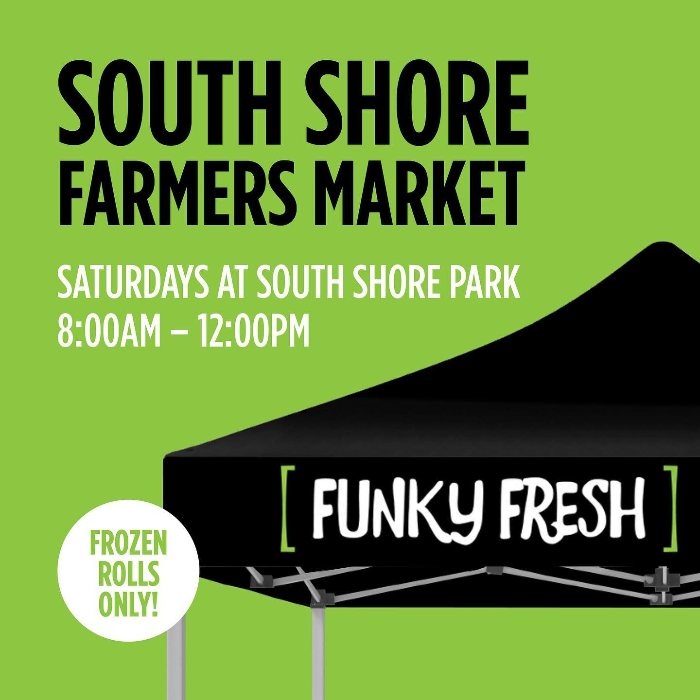 Funky Fresh Spring Rolls at the South Shore Farmer's Market